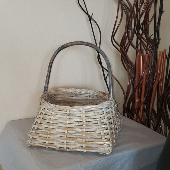 Other - Home Decor Woven Basket